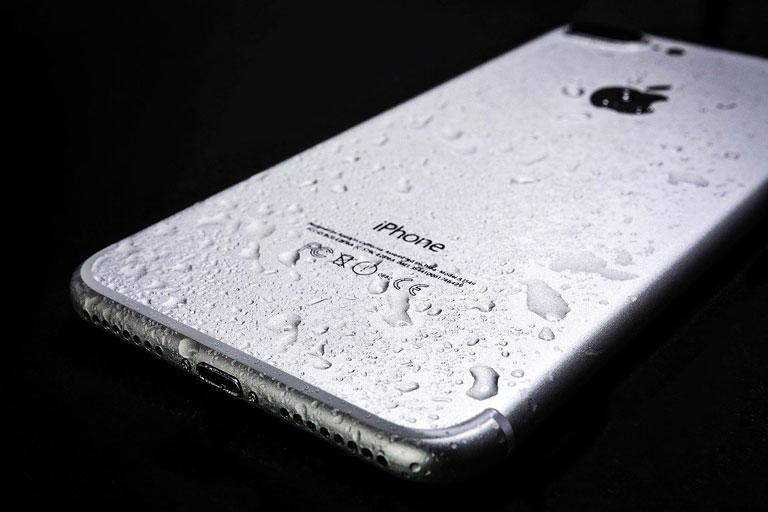 防水規格をスマートフォンで例えると。